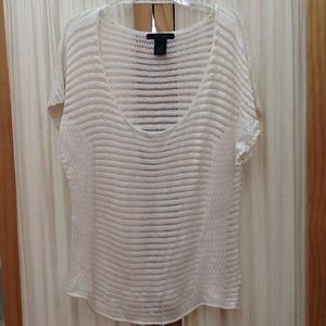 Cream Blouse by Calvin Klein